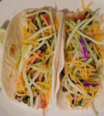 The easiest fish tacos ever!