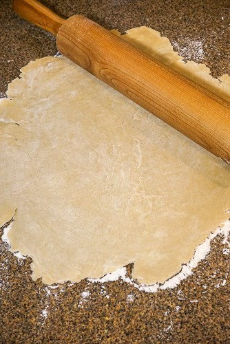 Here's a step-by-step tutorial for how to make the best made from scratch pie crust. This flaky and flavorful crust has been my grandma's go-to recipe for decades.