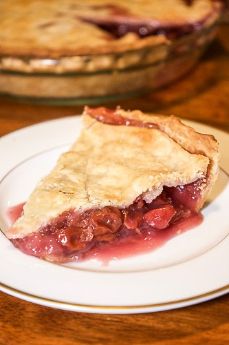 Grandma's Homemade Cherry Pie - This is not just your standard fruit pie recipe. If you want a juicier, richer cherry pie, be sure to check it out!