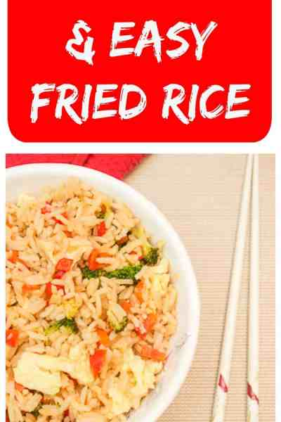 Amazingly Delicious and Easy Fried Rice