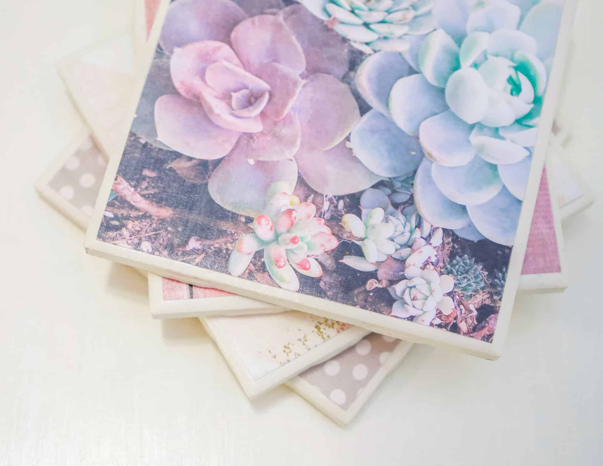 diy ceramic tile coasters health