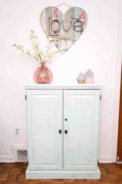 Transforming a piece of furniture is not as difficult as you may think. Check out this simple tutorial for how to inexpensively update a cabinet.