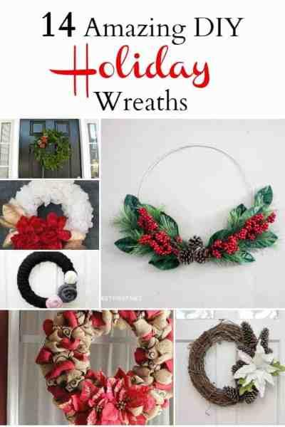 14 Amazing DIY Holiday Wreaths