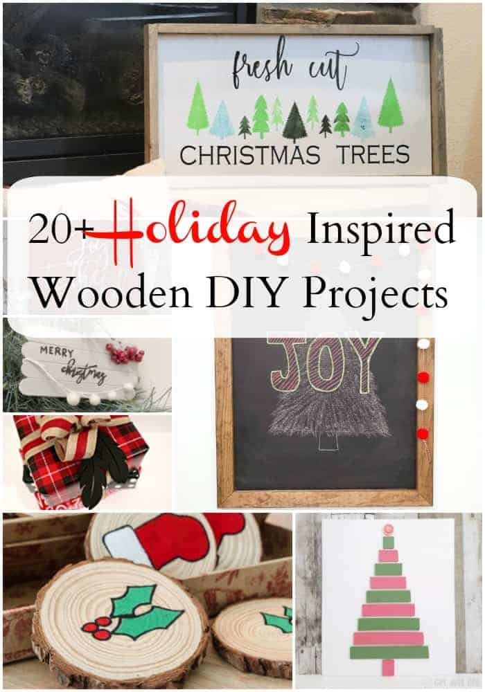20 Holiday Inspired Wooden Diy Projects Health Home And