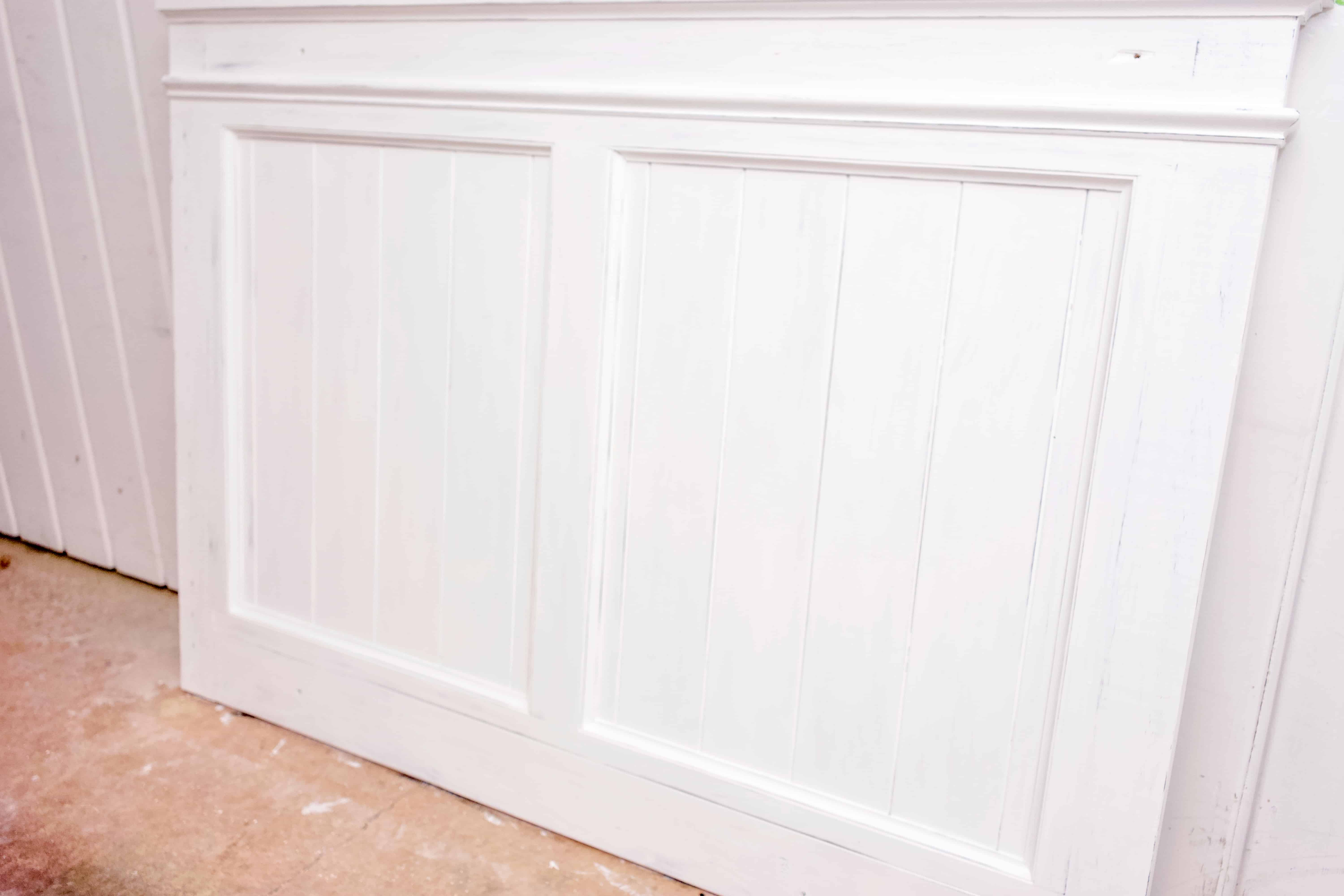 Here's a step-by-step tutorial on how to chalk paint and distress furniture. It's a fairly easy process that can make a big difference!