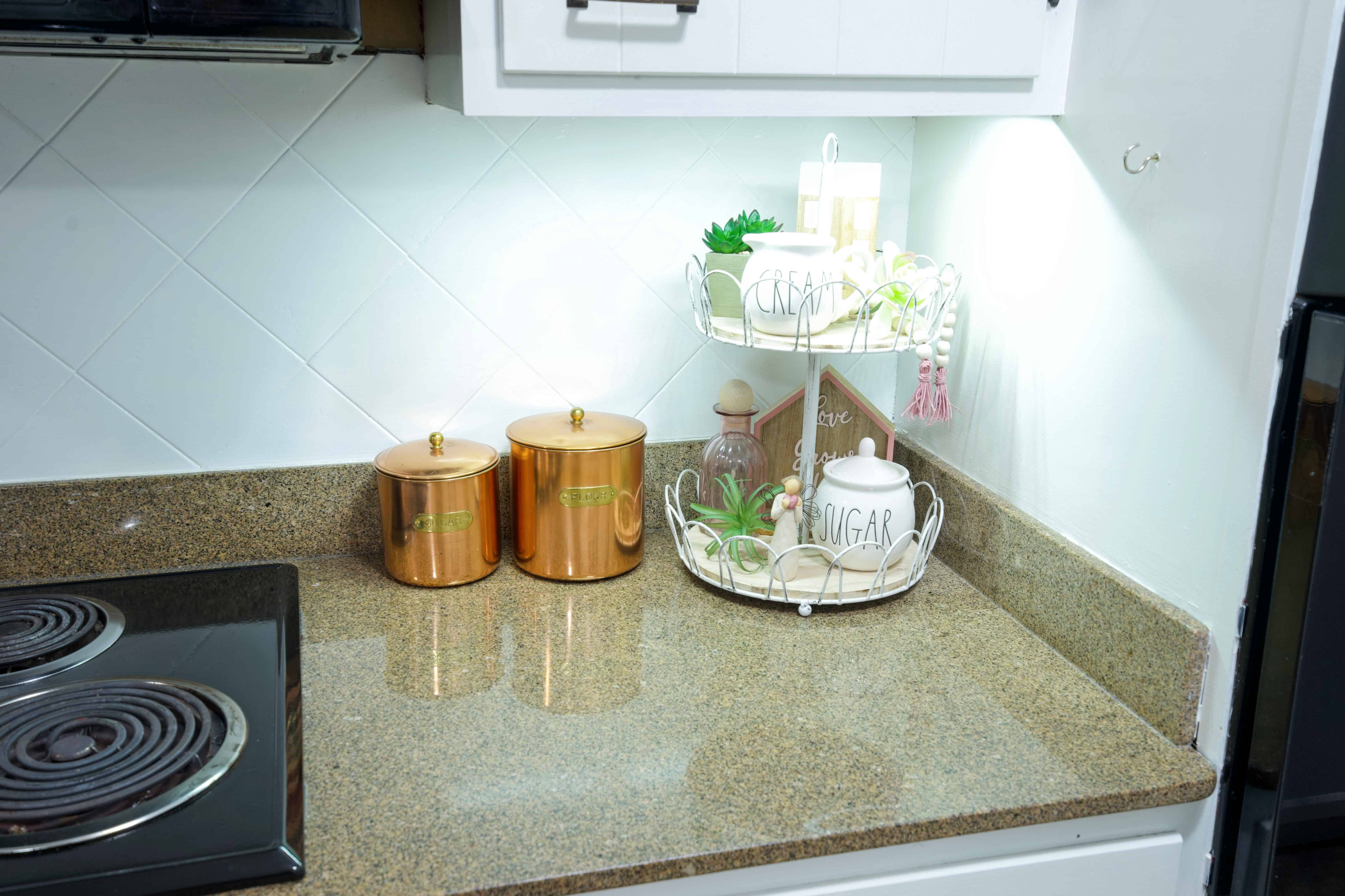 5 Minute Diy Under Cabinet Lighting Health Home And Heart