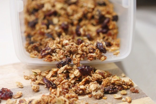 Simple & Healthy Granola Recipe