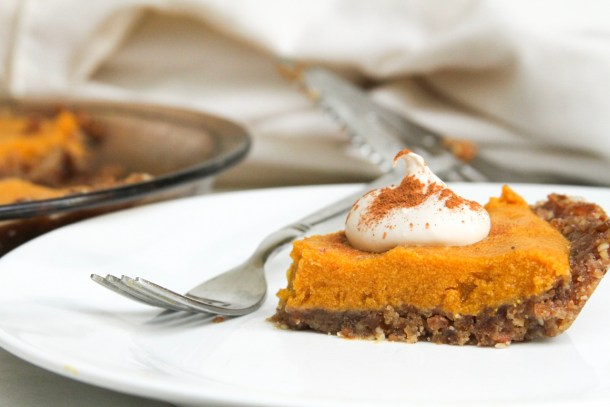 Raw Vegan Pumpkin Pie | Updated Recipe