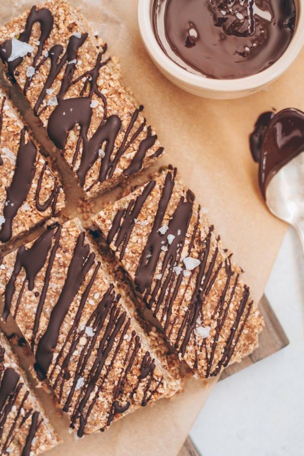 no-bake protein bar