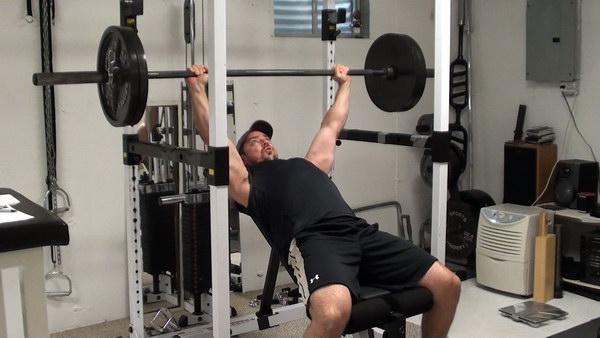 pullups using power rack