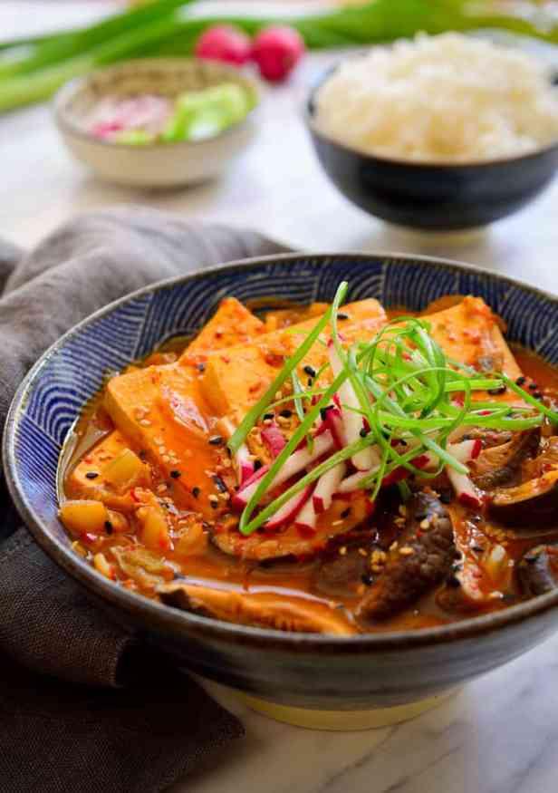 Vegan Kimchi Stew