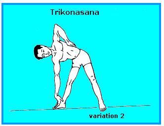 TRIKONASANA VARIATION-2