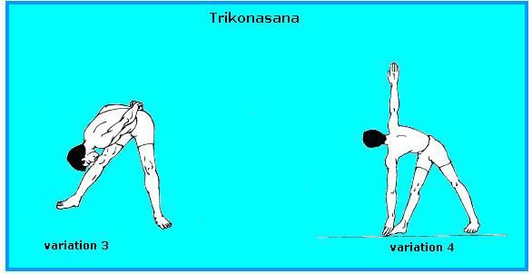 TRIKONASANA VARIATION-3