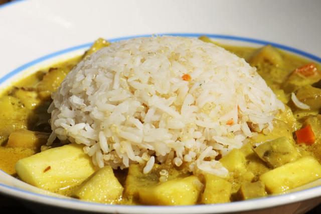 lowcarb Curry mit Ingwer und Knoblauch