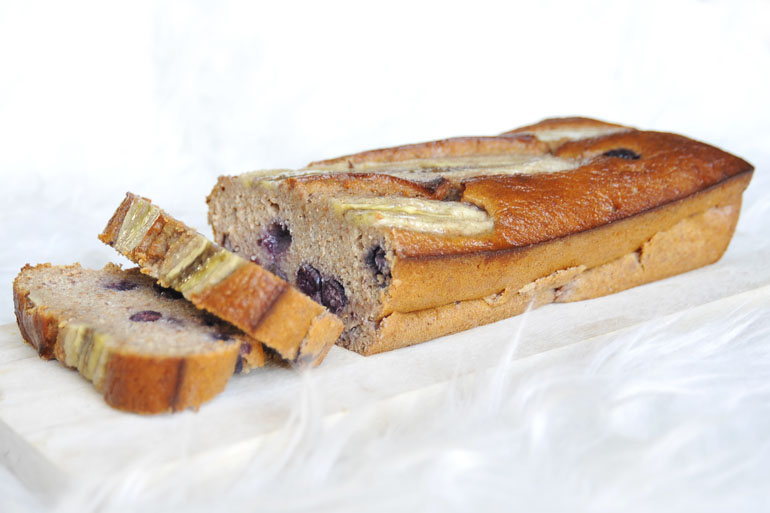 Gezond bananenbrood recept bosbessen