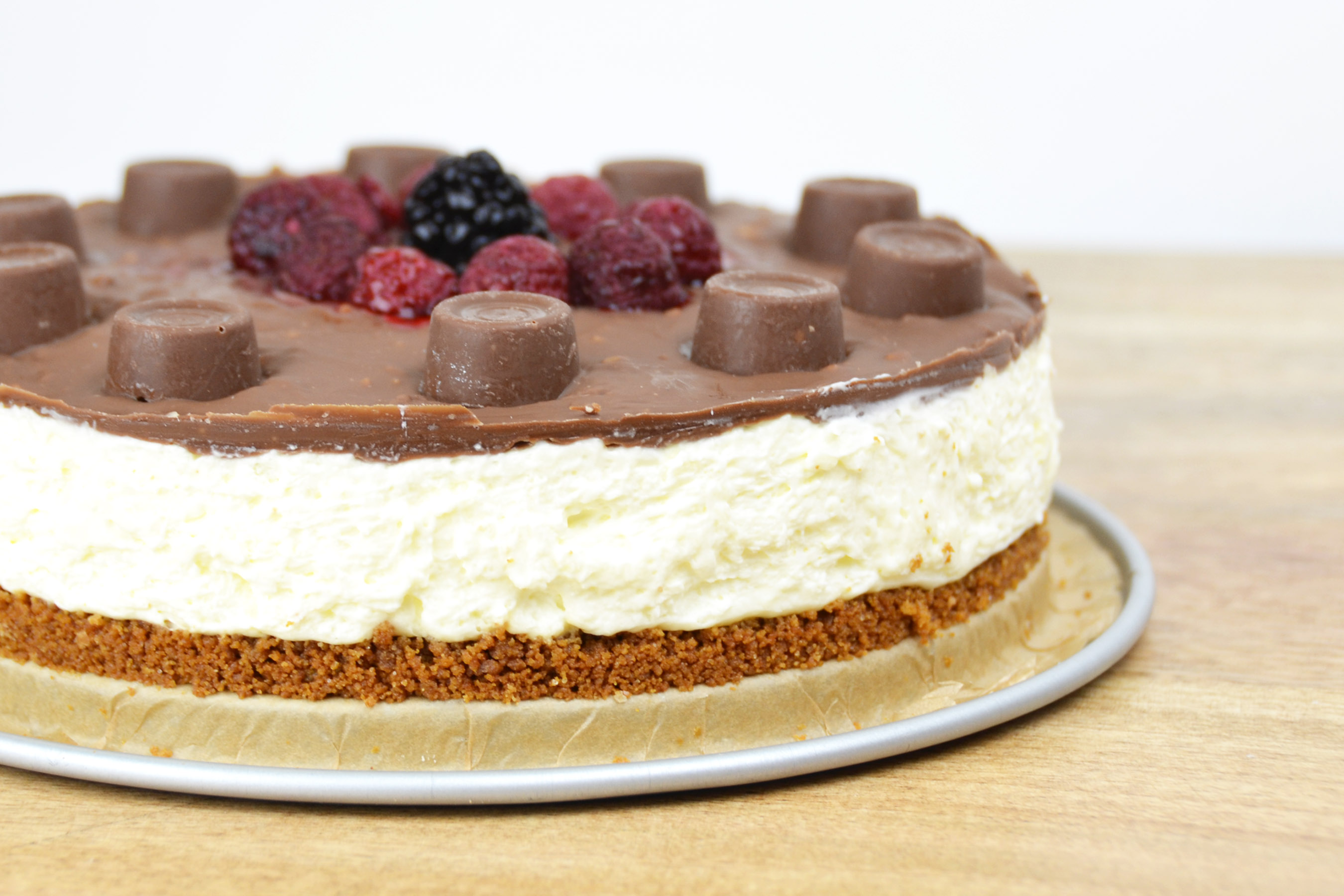 Tony's salted caramel cheesecake met rolo's