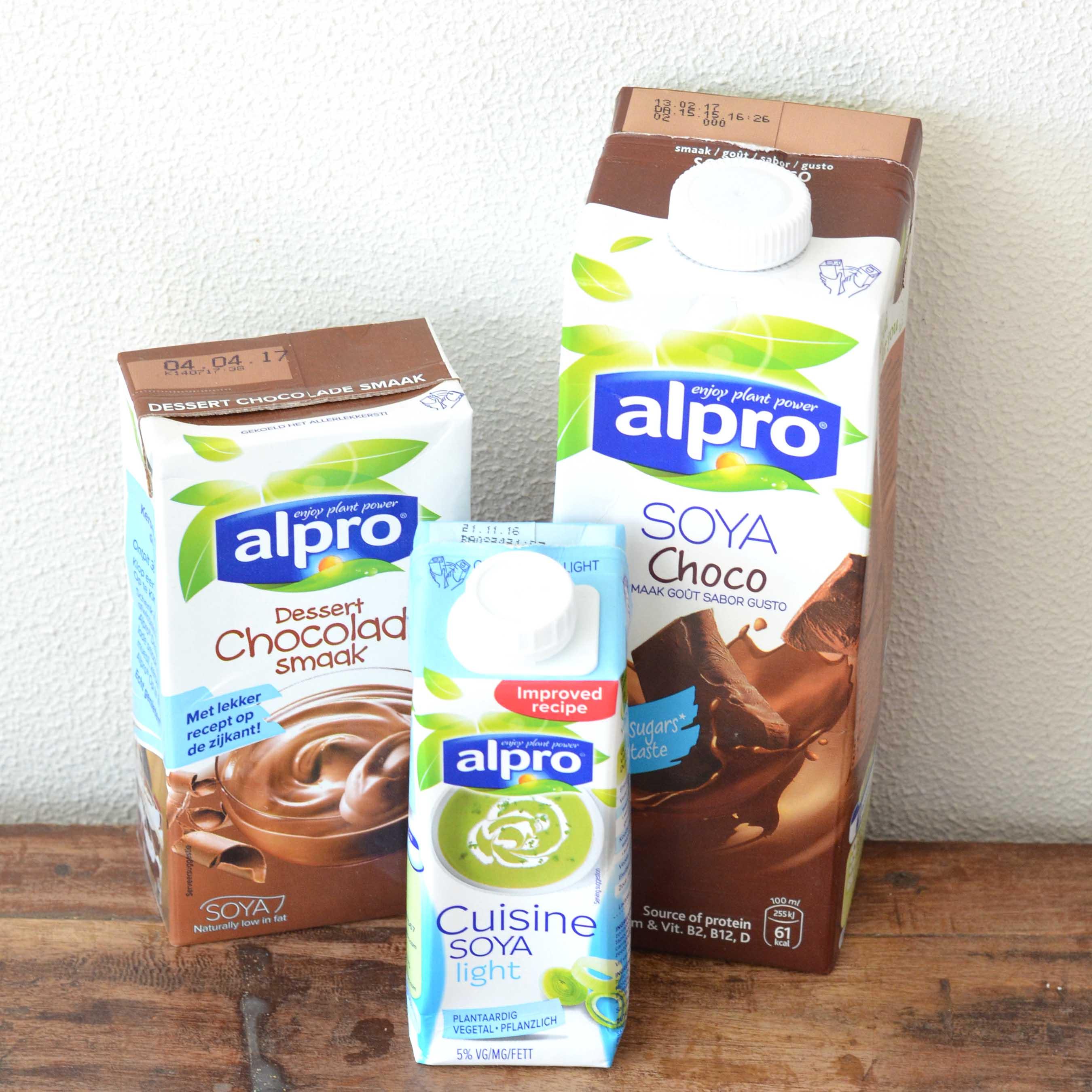 Win healthinut 39 s gezond verwenpakket for Alpro soja cuisine