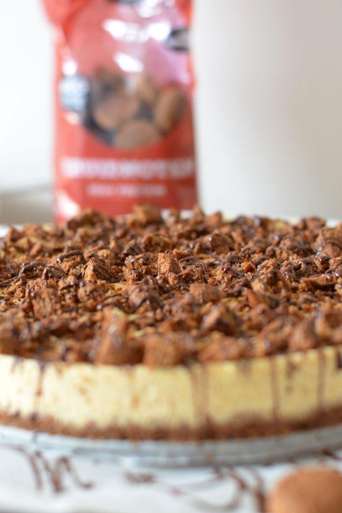 Pompoen Cheesecake met Kruidnoten