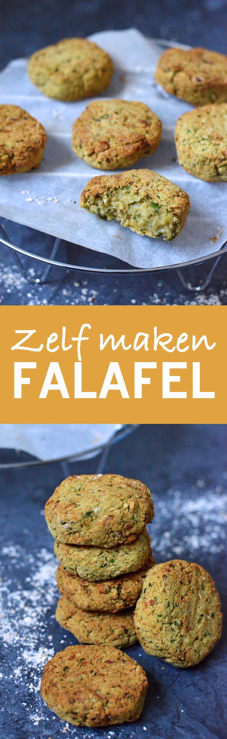 Zelf falafel maken is zo makkelijk en zo lekker! Probeer het ook!