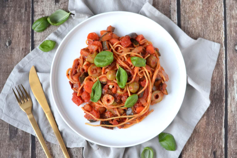 veganistische recepten pasta