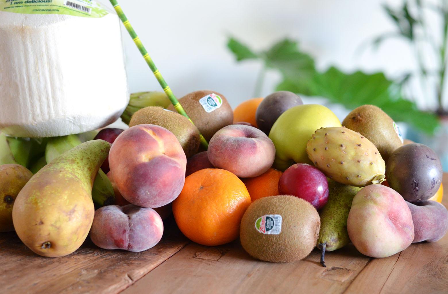 hoeveel fruit mag je per dag eten