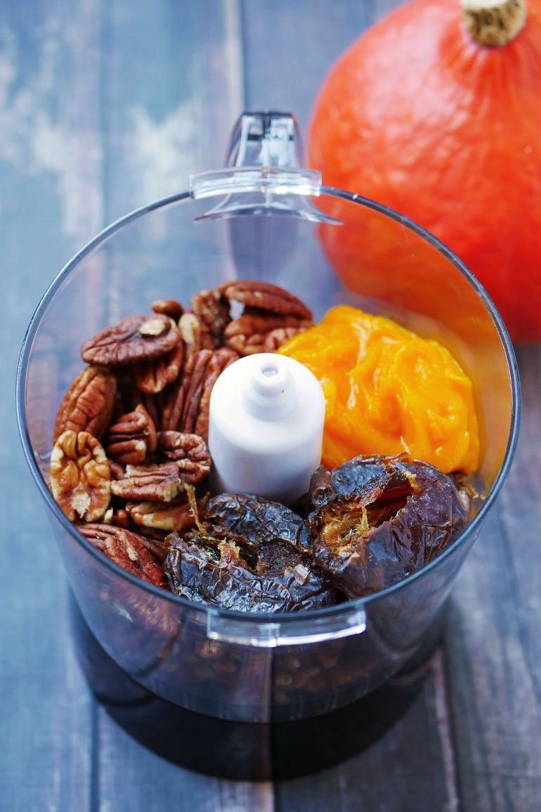zoet recept pompoen chocolade repen