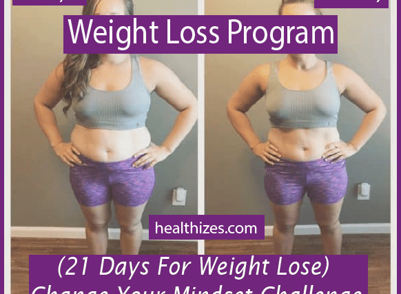 21 Days For Weight Lose: Change Your Mindset Challenge