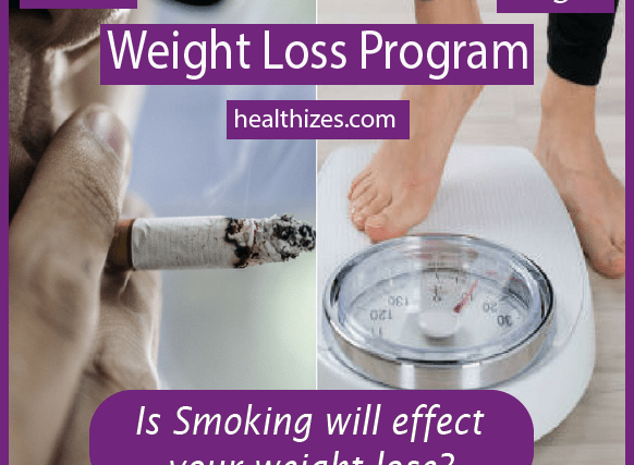 Is Smoking will effect your weight lose?