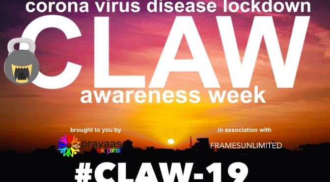 Corona Awareness Drawing Poster Event : CLAW-19