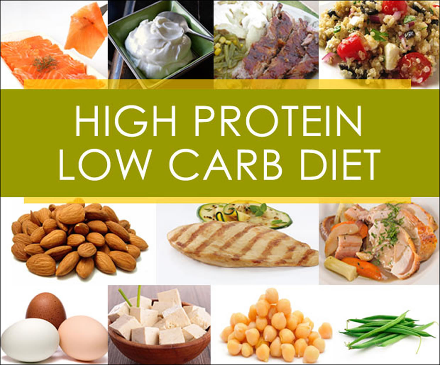High Protein Low Carb Diet for Weight Loss - What Are The ...