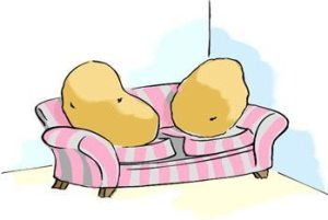 couch potatoes cartoon