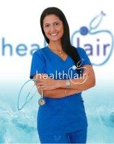 Health fitness blogger