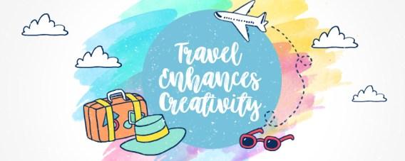 travel enhance creativity