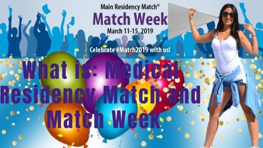 medical residency match week