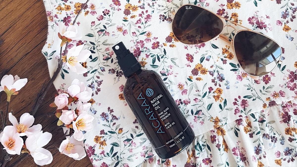 Naturkosmetik Test: ACARAA Natural Hair Oil