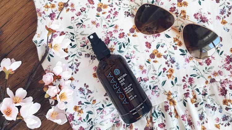 Test Haaroel Natural Hair Oil Acaraa Naturkosmetik Healthlove