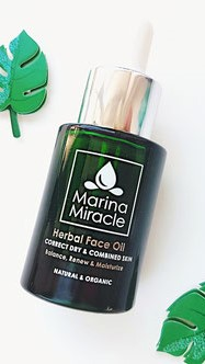 Marina Miracle Herbal Face Oil Naturkosmetik Handgepaeck Healthlove
