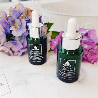 Marina Miracle Serum Hautpflege Naturkosmetik vegan Healthlove Test