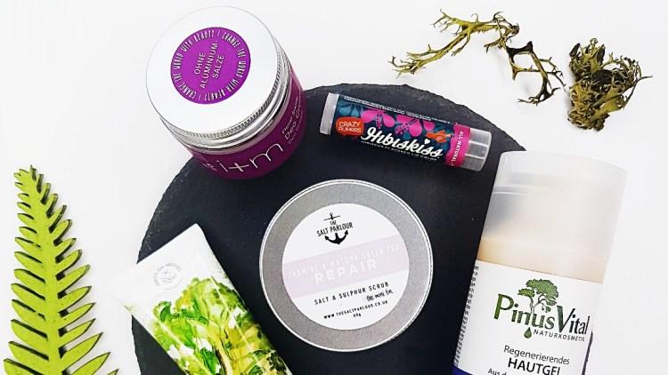 Naturkosmetik Test vegan beauty Basket Juli 2018 tierversuchsfrei