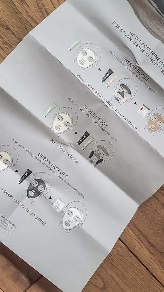 Anleitung Madara Multimasking Set Test Masken