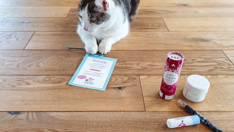 Fairybox April 2019 Katze Healthlove