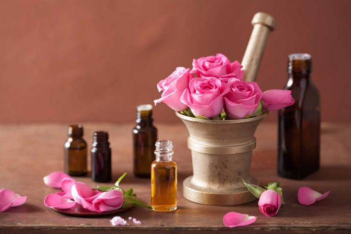 rose oil for clear skin