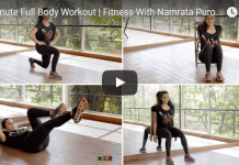 4 minute full body workout