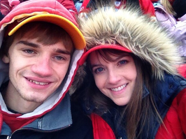 Daniel and I at Arrowhead