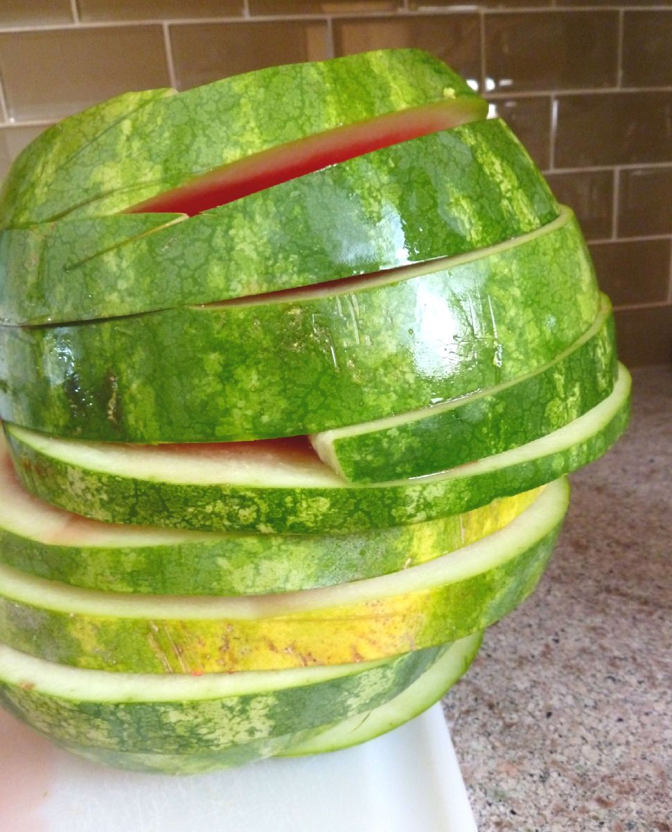 Leaning Tower of Watermelon