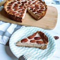 Vegan Pecan Cream Pie
