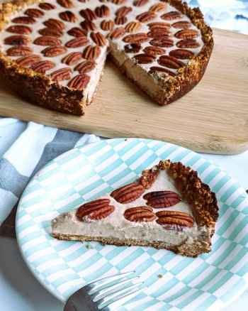 Vegan Pecan Cream Pie