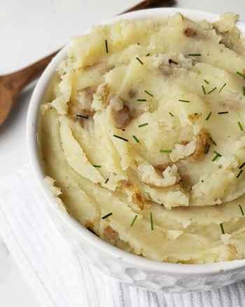 Healthy Vegan Mashed Potatoes