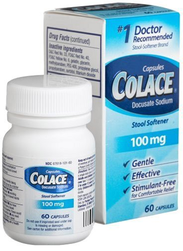 Colace 100mg (Docusate Sodium)? Side effects Dosage