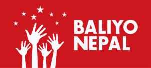 Baliyo Nepal logo